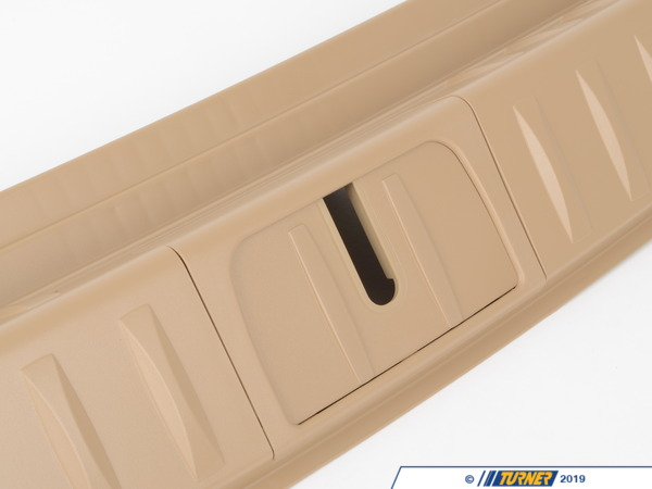 T#110804 - 51476949607 - Genuine BMW Loading Sill Cover Beige - 51476949607 - Genuine BMW -