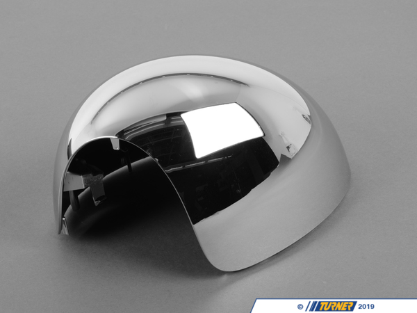 T#82329 - 51162753669 - Genuine MINI Mirror Cover, Left Chrome - 51162753669 - Genuine Mini -