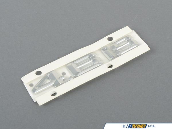 T#81115 - 51147056056 - Genuine BMW Emblem Adhered Right - 4.6Is - 51147056056 - E53 - Genuine BMW -