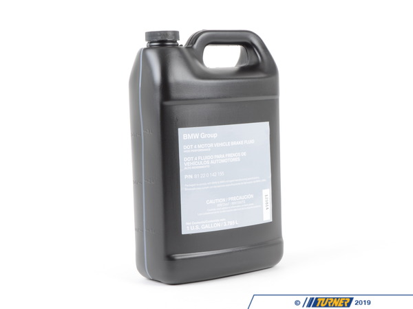 T#167015 - 81220142155 - Genuine BMW Brake Fluid Gallon - 81220142155 - Genuine BMW -