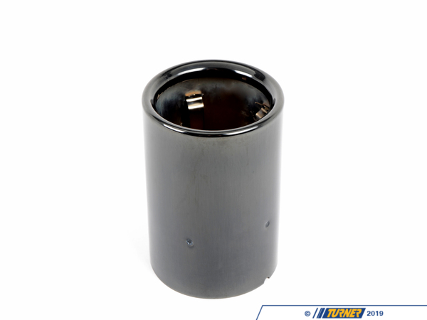 T#177161 - 18307622764 - Genuine BMW Tailpipe Tip, Black Chrome - 18307622764 - F30,F34 - Genuine BMW -