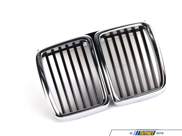 Genuine BMW Kidney Grill - E30 3 series 1984-1991 51131945877