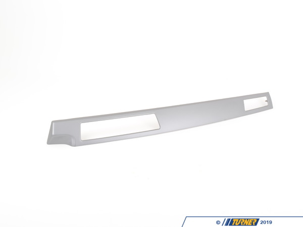 T#107954 - 51458045762 - Genuine BMW Decor Strip For I-panel, Alu - 51458045762 - Genuine BMW -