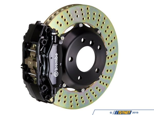 T#341330 - 1B1.7009A1 - Front Brembo GT 4 piston Big Brake Kit (332x32mm) - Brembo -