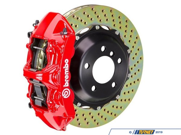 T#341393 - 1M1.8008A2 - Front Brembo GT 6 Piston Big Brake Kit (355x32mm) - Brembo -