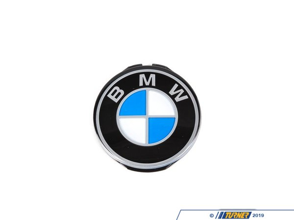 Genuine BMW Genuine BMW Steering Wheel Emblem/Roundel - E30 E12 E34 E31 E24 E21 320i E23 E32 E28 32331117279