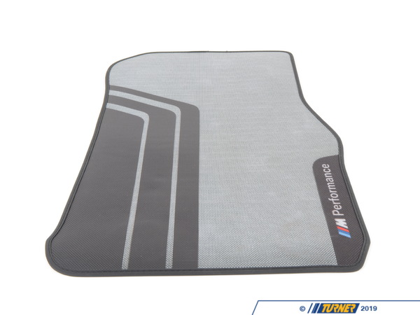 T#210514 - 51472407299 - M Performance Front Floor Mats - F22 F87 - Genuine BMW -