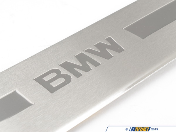 T#113345 - 51478257871 - Genuine BMW Entrance Panel, Stainless Steel, Fl BMW - 51478257871 - Genuine BMW -