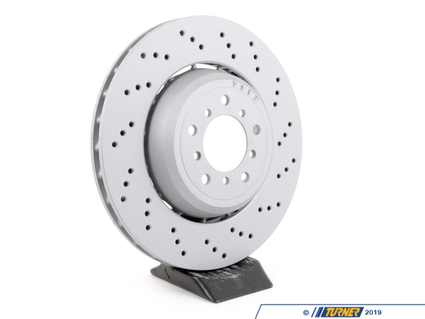 T#304232 - 34112283802 - Brake Rotor - Right Front - Zimmermann -