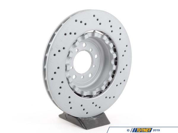 T#304231 - 34112283801 - Brake Rotor - Left Front - Zimmermann -