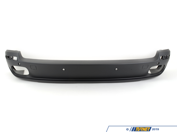 T#78425 - 51127178280 - Genuine BMW Bumper Trim Panel, Rear - 51127178280 - Schwarz Genarbt - Genuine BMW -