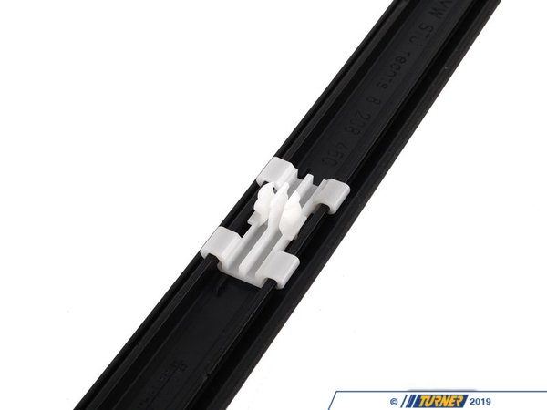 T#8780 - 51138208450 - Genuine BMW Moulding Door Front Right Schwarz - 51138208450 - E46 - Genuine BMW -
