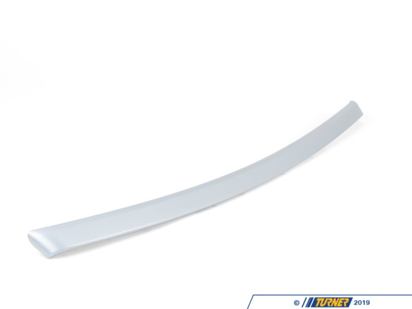 T#98983 - 51419145407 - Genuine BMW Aluminum Decor Strip, Front - 51419145407 - Genuine BMW -