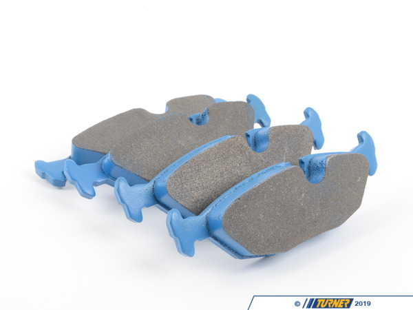 T#168 - TMS168 - Hawk Blue Racing Brake Pads - Rear  - E30 325/318 - Hawk - BMW