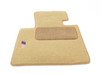 T#24841 - 82110414671 - Genuine BMW Floormat Z4 Fcelft Beige - 82110414671 - E85,E85 Z4M - Genuine BMW -