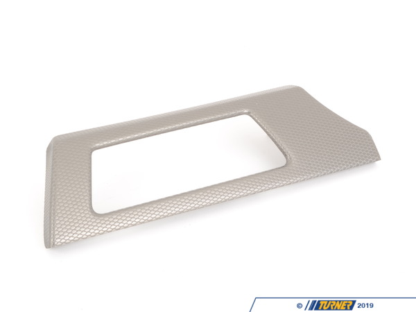 T#107974 - 51458049048 - Genuine BMW Cover, Dashboard, Aluminium, - 51458049048 - Genuine BMW -