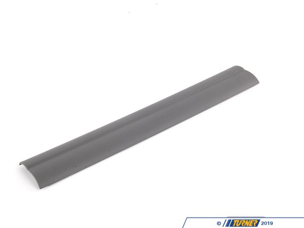 T#111811 - 51477146331 - Genuine BMW Entrance Strip, Front Grau - 51477146331 - E90 - Genuine BMW -