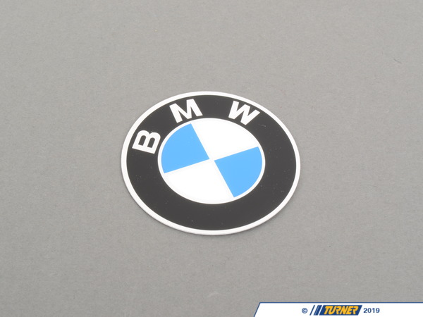 T#12303 - 36131181105 - Genuine BMW Plaque With Adhesive Film D=60mm - 36131181105 - Genuine BMW -