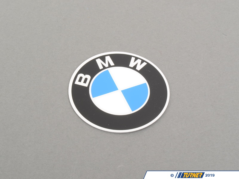 36131181105 genuine bmw plaque with adhesive film d 60mm 36131181105 turner motorsport. Black Bedroom Furniture Sets. Home Design Ideas
