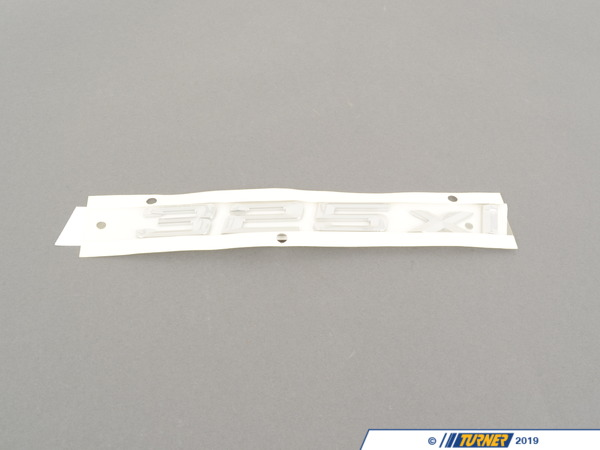 T#81124 - 51147120254 - Genuine BMW Emblem Adhered Rear - 325Xi - 51147120254 - Genuine BMW -