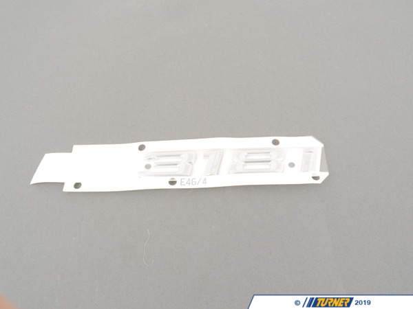 T#81340 - 51148195096 - Genuine BMW Emblem Adhered Rear - 318I - 51148195096 - Genuine BMW -
