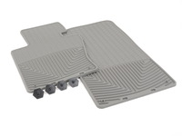 Front All-Weather Floor Mats - grey - E83
