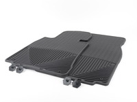 Front All-Weather Floor Mats - black - E38 E39