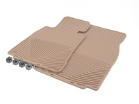 Front All-Weather Floor Mats - tan - E38 E39