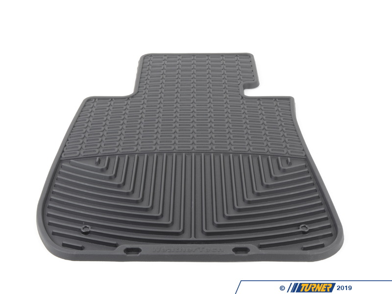 W61 Front All Weather Floor Mats Black E82 E88 E90
