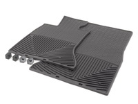 Front All-Weather Floor Mats - black