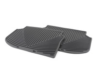 Rear All-Weather Floor Mats - black - F10