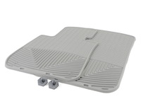 Front All-Weather Floor Mats - grey - E82 E88 E90 E91 E92 E93 E89 Z4