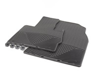 Front All-Weather Floor Mats - black - E53