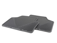 Rear All-Weather Floor Mats - Black - E90 E91