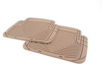 Rear All-Weather Floor Mats - Tan - E30 E36 E34 E63 E64