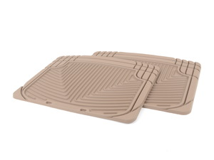 Rear Rubber Mats - Tan - F12 F13