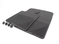 T#372131 - W24 - Front All-Weather Floor Mats - Black - E30 E36 E46 E52 E63 E64 - WeatherTech - BMW