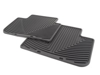 rear All-Weather Floor Mats - Black - E83