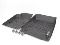 Front FloorLiner DigitalFit - Black - E46 xDrive