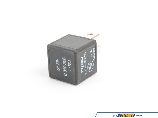 T#144376 - 61368350358 - Genuine BMW Relay, Make Contact, Black - 61368350358 - E34,E38,E39 - Genuine BMW -