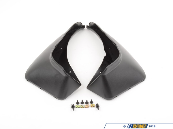 T#11414 - 82160002510 - Genuine BMW Set Mud Flaps, Rear - 82160002510 - E46 - Genuine BMW -