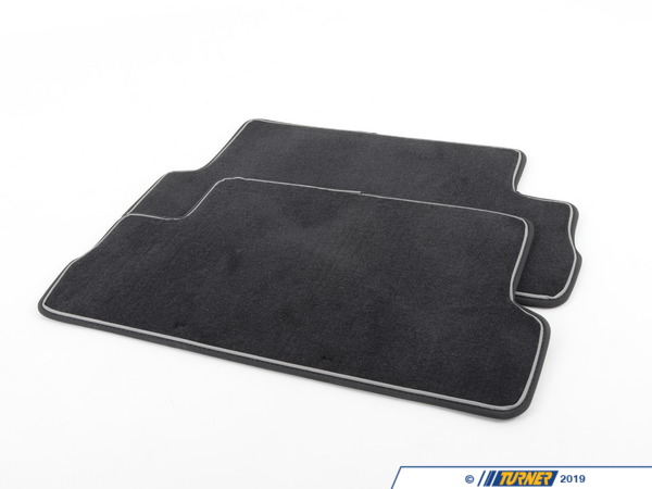 T#110428 - 51472213220 - Genuine MINI Footmats Cosmopolitan, Rear - 51472213220 - Genuine MINI -
