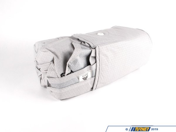 "T#16389 - 82111468689 - E36 Genuine BMW Car Cover - Get a car cover that is custom fit for your BMW, not some generic one size fits all available from other suppliers. This Genuine BMW car cover is custom fit specifically for the E36 body. It features the BMW letteringon the front.NOAH barrier fabric actually stops water, yet it ""breathes"" to allow any trapped moisture, seam seepage or condensation to easily evaporate. The unique construction process (patent pending) results in a cover with maximum all-weather protectionhighly water resistant, dust resistant, UV resistant and breathable to make sure moisture and/or heat don't stay under the cover. Made in the U.S. the fabric weighs only 4.75 oz./sq. yd., so it's easy to handle and fold.Protective Outer Layers- A bi-component spunbond, using sheath-core technology. The inner core is polypropylene for strength, with a polyethylene wrap for softness. A silver-gray color was selected because of its heat-resistant properties. The fabric is also treated with UV inhibitors for extended outdoor use.Micro-Porous Middle Layer- The barrier layer is breathable film, a proprietary stretch-film technology. The film is stretched and subjected to a chemical process that creates microscopic holes smaller than droplets of water or dust, yet large enough to allow moisture vapor to escape.Soft, Paint-Protecting Inner Layer- A bi-component fabric made with polyethylene and nylon. This combination results in an exceptionally high strength-to-weight ratio, with the ""soft touch"" necessary for today's water-based paint finishes. - Genuine BMW - BMW"