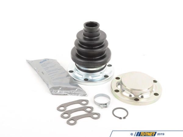 T#13472 - 33219067906 - Rear Axle CV Boot Repair Kit - E24 E28 E32 E32 - GKN Drivetech - BMW