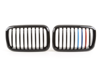 Blackout Grille Set - Gloss Black Tri-Color