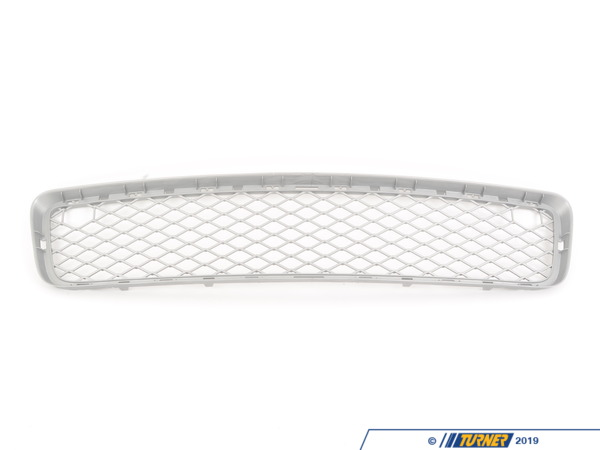 T#76322 - 51117163957 - Genuine BMW Grid, Center Open Alu Matt - 51117163957 - E70 X5 - Genuine BMW -