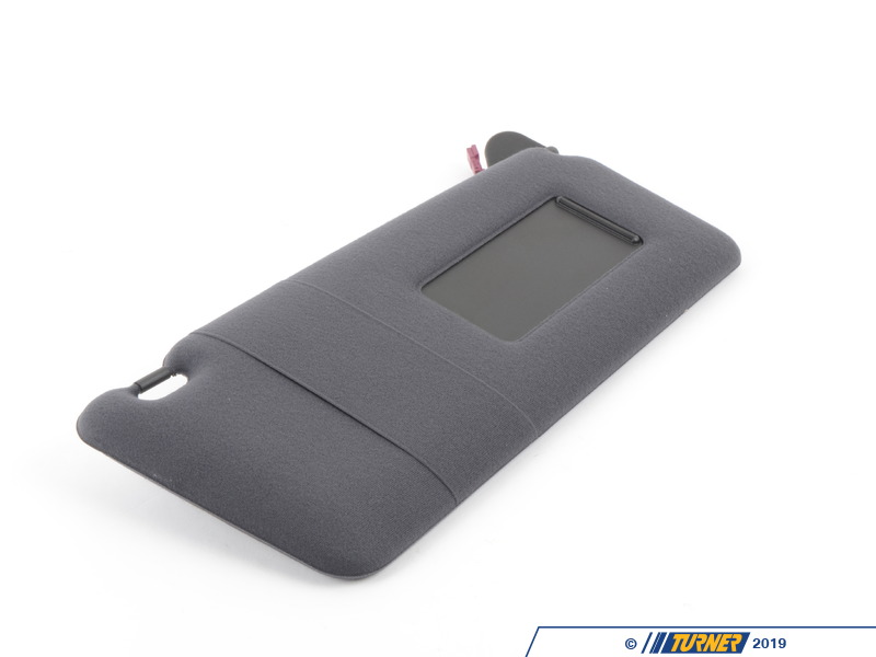 T#84602 - 51167892758 - Genuine BMW Lighted Make-up Sun Visor Ri - 51167892758 - Schwarz - Genuine BMW -