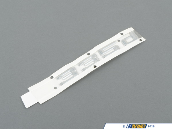 T#81120 - 51147074726 - Genuine BMW Emblem Adhered Rear - 335D - 51147074726 - E90 - Genuine BMW -