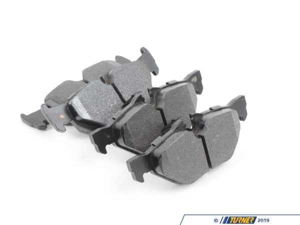 T#212710 - TMS212710 - Hawk Street Race Brake Pads - Rear - E82/E88 128i, E9x 325i/325xi/328i/328xi - Hawk - BMW