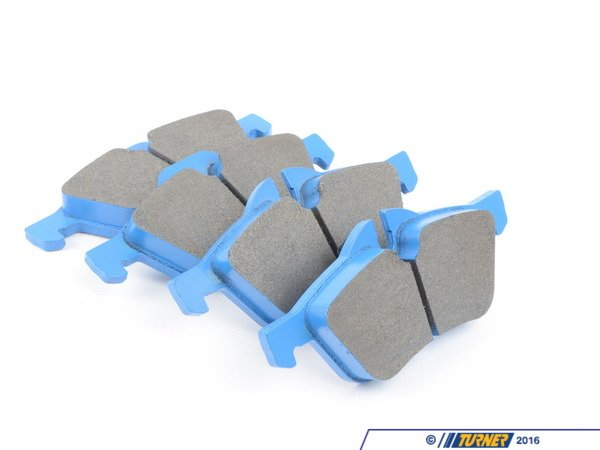 T#180684 - TMS180684 - Hawk Blue Racing Brake Pads - Front - MINI Cooper R50/Cooper S R53 - Hawk - MINI